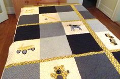 (7) Name: 'Quilting : Baby Boy Quilt