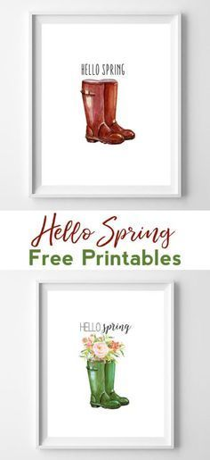 ideas for diy crafts spring free printables Framed Quotes, Wall Art Quotes, Free Poster, Spring Home Decor, Hello Spring, Free Prints, Home Decor Wall Art, Room Decor, Printable Wall Art