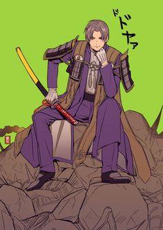 へし切長谷部 Manga Boy, Manga Anime, Anime Art, Katana, Samurai, Nikkari Aoe, Hot Anime Guys, Touken Ranbu, Anime Shows