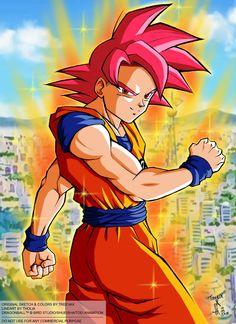 Super Saiyajin God (ft Tholia) V2 Dragon Ball  Z Battle of gods