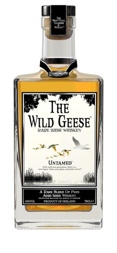 The Wild Geese Rare Irish Whiskey: Citrus fruits, gooseberry  and floral notes. Honeysuckle  with a peppery overtone.