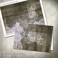 39 Best Thank You Cards Images On Pinterest Printable Thank You