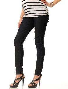 $29.99 Loved By Heidi Klum Under Belly Super Stretch Slim Leg Maternity Jeans