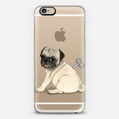 Pug; Toy Dog. By Barruf. Iphone case design available on @casetify  get $10 off using code: S29WXC