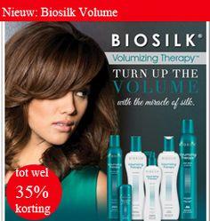 Biosilk Volumizing Therapy is opgebouwd uit verschillende zijdeproteïnen met verschillende elementen van het Hair Volume Complex en de versterkende kracht van rijstproteïnen.