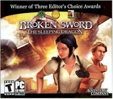 Broken Sword: The Sleeping Dragon  (PC, 2003) Pretty good, aside from the infamous action sequences. Very few 'pure' adventure games have been able to smoothly integrate platforming or reflex-based action, which results in a lot of frustration...