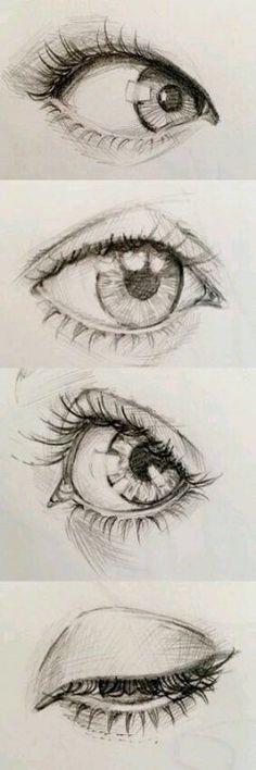 eye drawing realistic - eye drawing - eye drawing tutorials - eye drawing cartoon - eye drawing reference - eye drawing realistic - eye drawing step by step - eye drawing creative - eye drawing easy Realistic Eye Drawing, Drawing Eyes, Ball Drawing, Eye Pencil Drawing, Drawing Art, Eyelashes Drawing, Portrait Drawing Tips, Pencil Drawing Tutorials, Drawing Studies