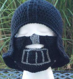 Inspired by Star Wars Darth Vader crochet hat and by jazmyn1006, $25.00