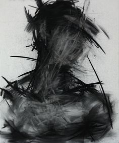 Charcoal on canvas by Shin KwangHo. We love the incredible texture and depth of this charcoal drawing by South Korean artist Shin KwangHo.