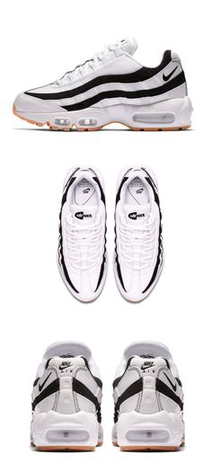Dam Nike Air Max 1 ID Vit Pearl Sail Svart Sko