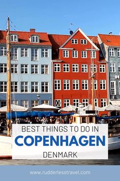 People won't stop smiling at me, trains drive themselves, plus it's the birthplace of The Little Mermaid and LEGO. I had a lot of fun putting together this 'Things To Do in Copenhagen Itinerary' – danishes taste better in Denmark (So does Carlsberg and Tuborg). Top Europe Destinations, Travel Europe Cheap, European Travel Tips, Travel Through Europe, Europe Travel Guide, Visit Denmark, Denmark Travel, Copenhagen Travel, Travel Inspiration