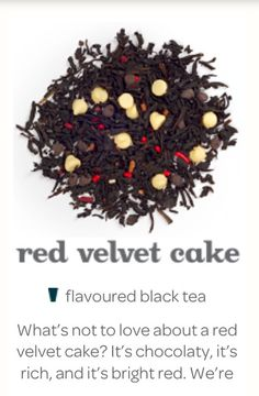 Red velvet cake tea from David's tea heard good things about this tea! Velvet Cake, Red Velvet, Davids Tea, Tea Brands, Best Tea, Loose Leaf Tea, My Tea, Tea Recipes, Tea Mugs
