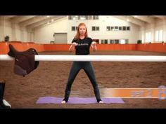 Prancercise it's NOT! The equibarre workout is a legit equestrian fitnes...