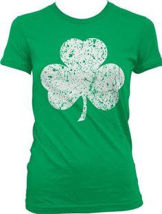Clover Pink, 5T Tcombo Distressed Irish Shamrock ST Patricks Day Gift Toddler//Infant T-Shirt