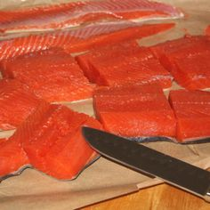 Basic Brine For Smoked Salmon Boosts Salmon Flavor, Improves Texture - Smoked Salmon Brine, Smoked Salmon Recipes, Trout Recipes, Smoked Trout, Smoked Fish, Seafood Recipes, Pork Recipes, Pellet Grill Recipes, Grilling Recipes