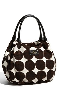 kate spade new york 'hinkley - small karen' slubbed satchel available at #Nordstrom