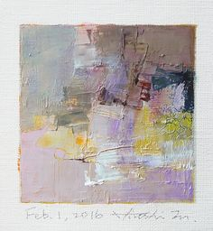 https://flic.kr/p/DF8cxS | feb012016 | Oil on canvas 9 cm x 9 cm © 2016 Hiroshi Matsumoto www.hiroshimatsumoto.com