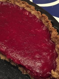 Swoon For Food: Vegan Cranberry Tart