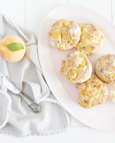 Fraîche Nutrition Peaches and Cream Scones