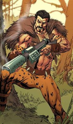 Kraven. Since the new Spider-Man movie is gonna introduce a villain not used on the big screen, he might actually be a good candidate. Maybe make him like the Ultimate version and give him ties to Black Panther