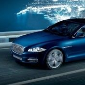 New Jaguar XJ. See more pictures and details at http://www.lookers.co.uk/jaguar/new-cars/xj