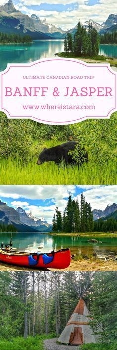 The ULTIMATE Canadian Road Trip. All the travel tips you need to plan your dream vacation to Banff and Jasper in Canada.