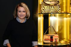 "Silvia Venturini Fendi at the Fendi exhibition ""Un Art Autre"" in Beijing"