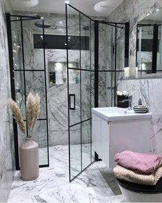Top 5 Bathroom Inspiration this weekThe Perfect Scandinavian Style Home Bathroom Goals, Budget Bathroom, Small Bathroom, Bathroom Ideas, Fancy Bathrooms, Dream Bathrooms, Home Interior, Bathroom Interior, Decor Interior Design