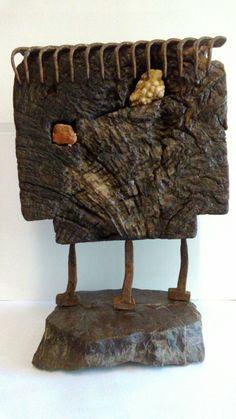 Sponge Bob, Installation Art, Wood, How To Make, Crafts, Stones, Spongebob, Manualidades