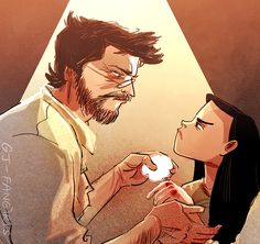 Logan & Laura(at some point of time, probably)