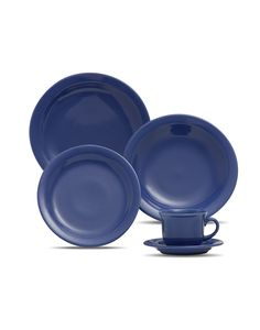 Oxford Porcelanas - Floreal Blue 20 peças