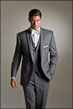 Grey Kristoff by Savvi Black Label  ~ Tuxedos at Savvi Formalwear St. Louis