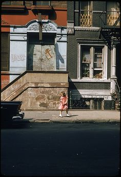 Walker Evans, From 29 Views of New York Streets, 1957-59