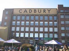 Cadbury factory Bournville Birmingham, home of chocolate!