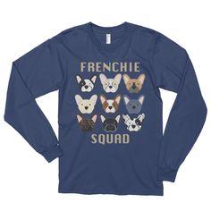 Frenchie Squad - (GOLD) Long Sleeve (Unisex)