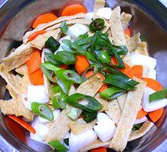 식당하는 친정엄마에게 배운 식당에서 나오는 오뎅볶음 만드는 방법 Feta, Cheese, Cooking, Kitchen, Cuisine