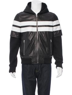 b86767d20cf Givenchy Hooded Leather Jacket  MensSignatureStyle Tom Ford Suit