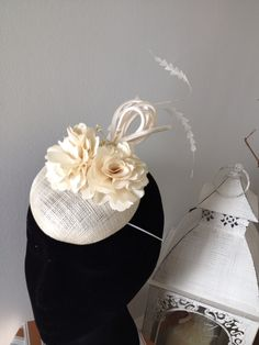Falabella creation from the Winter collection ,PM for price . Mother Of The Bride Hats, Derby Day, Wedding Hats, Race Day, Ladies Day, Winter Collection, Headpiece, Special Occasion, Headdress