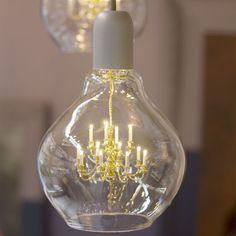 'King Edison' pendant lamp designed by Young & Battaglia for Mineheart