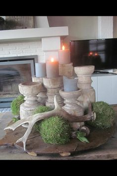 not sure these are made of wood, but I would like them anyway. they would be great in wood too. Vibeke Design, Chalet Style, Living Styles, Seasonal Decor, Farmhouse Style, Home Accessories, Interior Decorating, Sweet Home, Home And Garden