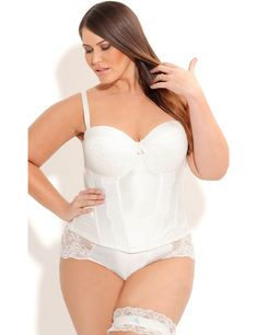 Plus Size Sexy Lingerie, Plus Size Corsets, Slips & Babydolls | Sonsi