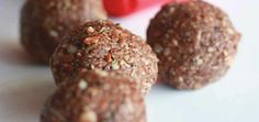 Chocolate Almond Superfood Snack Balls
