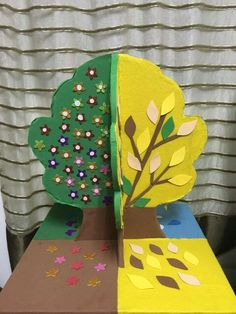School Frame, Art School, Origami, Craft Projects, Projects To Try, Diy Cardboard, Montessori Materials, Nature Crafts, Kids Education