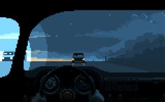 The best collection of cyberpunk animated pixel art, portraying a dark, rainy, lonely dystopian future. Design Page, Ui Ux Design, Interface Design, Game Design, Vaporwave, Pixel Art Gif, Art Cyberpunk, Arte 8 Bits, Arte Hip Hop
