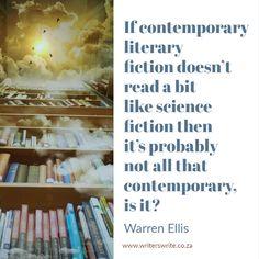 Quotable – Warren Ellis | Writers Write