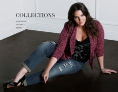 Collections, Look Books, Features & More - Plus Size Fashions for Women | Torrid Love this whole outfit!