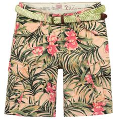 Baggy fit exotic-printed bermudas from Scotch & Soda - 71,00 €