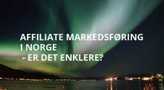 Affiliate markedsføring i Norge - er det enklere? Tanker, Usa, U.s. States