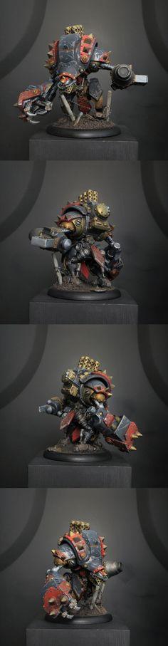 Khador Black Ivan