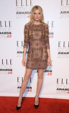Pin for Later: Die Stars zeigen sich super sexy bei den Elle Style Awards Lily Donaldson